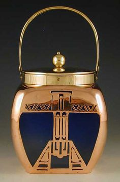 Art Deco. Loetz copper