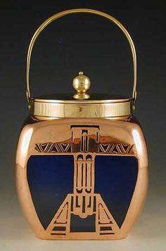Art Deco. Loetz copper