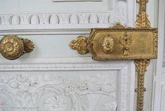 Versailles Petit Trianon Door Lock, Versailles France