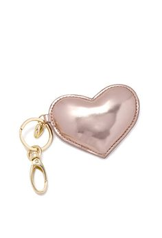 Metallic Heart Key Chain | FOREVER21 | #f21home