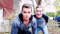 Mark and Ethan - haha this is by far my fav moment of all vlogs. The way they got the couch home though. Mark And Ethan, Cute Gay Couples, Love Ya, Romances, Gay Pride, Kinky, Make Me Smile, Did You Know, Haha
