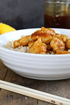 Gluten Free Lemon Chicken—Chinese-Style