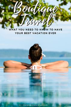 What is boutique travel, and why could it be your best vacation ever? Frequently, travel stress and uncertainty strip away all the relaxation you hoped for. That's where boutique travel comes in. You get a seamless tripped planned just for you where all you have to do is show up and have a good time. #boutiquetravel #travel #vacation #bestvacation Travel Pics, Travel Goals, Travel Advice, Travel Guides, Solo Travel, Time Travel, Travel Themes, Travel Destinations, Hot Spots
