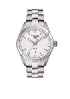 Tissot Women's Women's Quartz Stainless Steel Watch - Silver - One Size