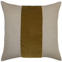 Square Feathers Ming Linen Mustard Throw Pillow ($258) ❤ liked on Polyvore featuring home, home decor, throw pillows, patterned throw pillows, striped throw pillows, mustard throw pillow, mustard yellow throw pillows and stripe throw pillows