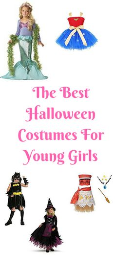 The best Halloween costumes for little girls