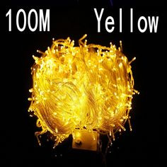 (49.29$)  Buy here - http://aipl1.worlditems.win/all/product.php?id=1000003470146 - yellow colour 100 meter 800 LED Christmas Lights 8 Modes for Decorative Christmas Holiday Wedding Parties Indoor / Outdoor Use