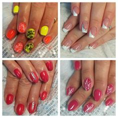 Summer Nails are definitely those with neons, but sometimes a white French can also be very stylish