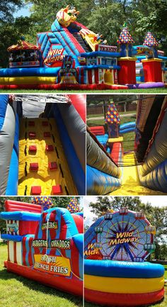 Win a Free Bounce House Party! Bouncy House, Bouncy Castle, Bounce House Parties, House Party, Cool Pool Floats, House Slide, Castle Party, Inflatable Water Park, Kids Indoor Playground