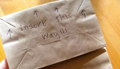 Printable Lunch Bags! with Tutorial.  Excellent idea!