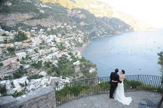 It's a nice day for a Positano wedding