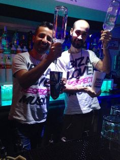 Tshirts @ Moijto bar Ibiza