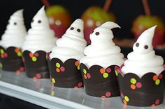 Easy and cute Halloween party food ideas for kids  Amazon.com: Halloween Cupcake Wrappers for Kids, Neon Paper Party Decorations, Confetti Couture Party Supplies, 36 Reversible Cupcake Holders: Kitchen & Dining