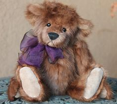 """16"""" Recycled Mink fur teddy bear. Always made from jackets. Giving life back, never taking it.  http://www.kimbearlys.com """"SOLD"""""""