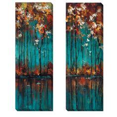 <li>Artist: Luis Solis</li><li>Title: The Mirror I and II</li><li>Product Type: 2-piece Canvas Art Set</li>
