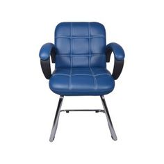 THE AZUL LOW BACK VISITOR CHAIR IN BLUE  brings out a simplistic style for any work environment. modular Office Furniture, Office visitors chairs, Workstation Chairs, buy office chairs online