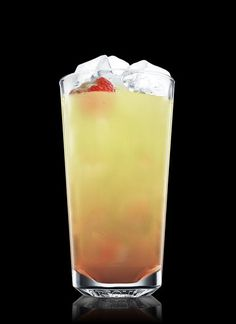 Absolut Strawberry Mojito - Muddle mint leaf, strawberry and simple syrup in a highball glass. Fill with ice cubes. Add lemon juice and ABSOLUT Vodka. Garnish with a strawberry. 2 Parts ABSOLUT VODKA, 1 Part Simple Syrup, 1 Part Lemon Juice, 5 Leaves Mint Leaf, 1 Whole Strawberry