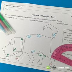20 FUN Classroom Angles Activities and Teaching Resources Angles can be very confusing, but these activities and resources will make angles fun in your classroom! Grade 6 Math, Fourth Grade Math, Math Resources, Math Activities, Geometry Activities, Multiplication Activities, Teaching Geometry, Teaching Math, Math Measurement