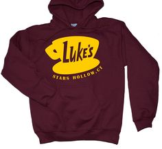 Gilmore Girls Shirt - Hoodie / Lukes Diner Shirt - Hoodie / Reading Is Sexy Shirt / Gilmore Girls Merch / Gilmore Girls Gifts by LintRollers on Etsy