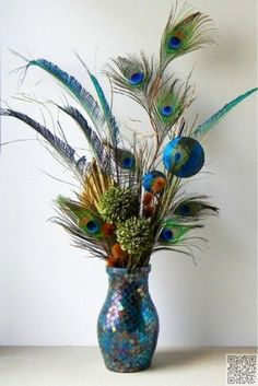 4. #Peacock Feathers - 36 #Awesome Peacock Theme #Items to Inspire Your Life ... → #Lifestyle #Feather