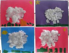 Curious Kids, Farm Theme, Diy For Kids, Lamb, Activities For Kids, Homeschool, Diy Crafts, Spring, Projects