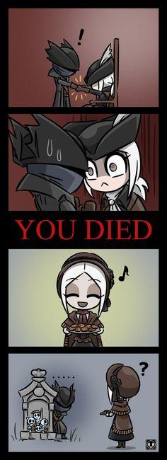 BloodBorne,Игры,Hunter (Bloodborne),Plain Doll,Кукла,Lady Maria