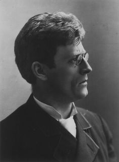 Knut Hamsun (1859-1952) - Norwegian author, who was awarded the Nobel Prize in Literature in 1920.