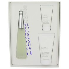 Gift Set -- 3.4 oz Eau De Toilette Spray + 2.5 oz Body Cream + 1 oz Shower Cream