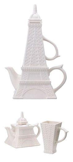 Eiffel Tower Tea for One Set ~ Cute! | Fab      ᘡղbᘠ