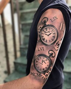Pocket watches pocket watch tattoo design, pocket watch tattoos, name tattoos, body tattoos Pocket Watch Tattoo Design, Pocket Watch Tattoos, Clock Tattoo Design, Foot Tattoos, Body Art Tattoos, Sleeve Tattoos, Hip Tattoos Women, Tattoos For Kids, Clockwork Tattoo