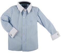 "Andy & Evan ""Green Stripe"" Necessary Cuffness Shirt"
