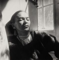 Frida Kahlo, 1950 Photo by Hector Garcia