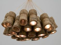 Cool idea for chandelier