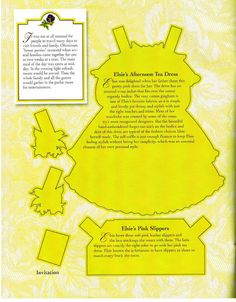 ELSIE DINSMORE Paper Doll Collection 26 of  36