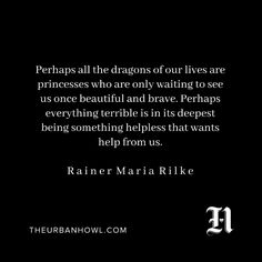 Rainer Maria Rilke  Via the urban howl