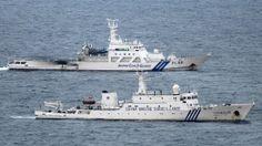 Die Wacht im Ostchinesischen Meer: Japan und China belauern sich im Ringen um eine umstrittene Inselgruppe