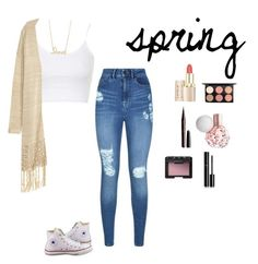 """""""spring"""" by alexbetancourt on Polyvore featuring Topshop, Converse, Lipsy, Sydney Evan, MAC Cosmetics, Marc Jacobs, NARS Cosmetics and Chanel"""