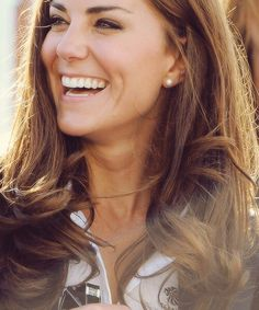 What a great smile. {Kate Middleton, Duchess of Cambridge, Duchess Catherine}