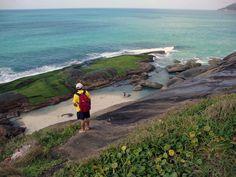 Como visitar a praia do Secreto, a Prainha e a Macumba