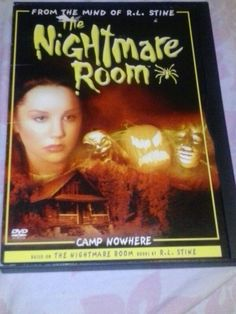 R.L. Stine's Rhe Nightmare Room DVD Episodes : Camp Nowhere Parts 1& 2, Don't Forget Me, & Full Moon Halloween Special Features The Nightmare Is Yours : Sink or Swim, Do You Dare ? Challenge - Are You Brave Enough to enter The Nightmare Room ?, The Nightmare Files an Interview with R.L. Stine, Bouns Episode of The Nightmare Room, Interactive Menus, Scene Access, & Trailers of other spooky family favorites