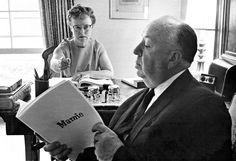 Alfred & Alma Hitchcock. Marnie.