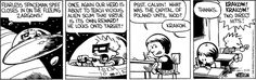 Calvin and Hobbes Comic Strip, April 25, 2016 on GoComics.com