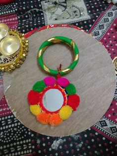 Though a bangle but can work as a latkan in a jiffy
