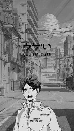 Haikyuu Wallpaper, Oikawa, Animes Wallpapers, Phone, Dark Art Photography, Darkness, Telephone, Mobile Phones