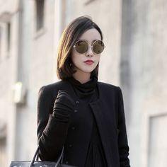 2013 VINTAGE sunglasses - http://zzkko.com/n97458-013-VINTAGE-export-quality-thicker-metal-circle-frame-sunglasses-retro-sunglasses-super-black-male-and-female-models $6.00