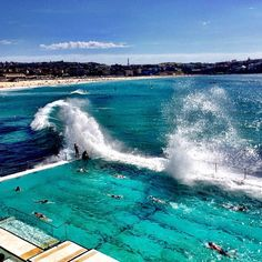 Whoa! Who's up for a swim? Waves have been crashing against – and into -- the iconic #BondiBaths for over 100 years. We love that the pool is open to the public and it has definitely earned a spot on our #travelbucketlist. See the link in our profile for everything @Australia. Incredible shot courtesy of @vlagios. Thanks for tagging #travelzoo. #BondiBeach #bondiicebergs #australia