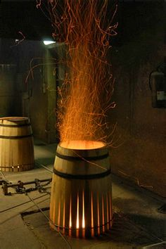 Oak from Allier and Tronçais forests, with a very closed physical structure… Wine Gadgets, French Oak, Wine Making, Wine Cellar, Whisky, Rum, Red And White, Bottles, Bouquet