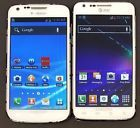 Lot of 2 White Samsung Galaxy S2 - SGH-T989 16GB T-Mobile & SGH-i727 16GB AT&T