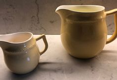 Gul Grete fra Figgjo | FINN.no Sugar Bowl, Bowl Set