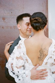 Photo: Courtesy of 100 Layer Cake. #refinery29 http://www.refinery29.com/unique-nontraditional-wedding-dresses#slide-6
